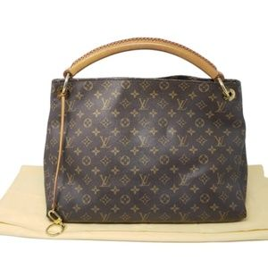 100% Auth Louis Vuitton Artsy MM Tote Bag